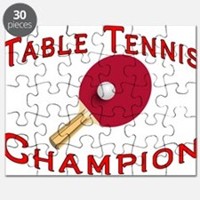 Table Tennis Champion Puzzle