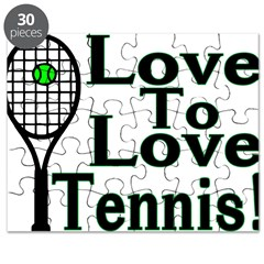 Love To Love Tennis Puzzle