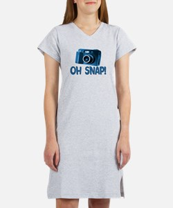 Oh Snap Camera Women's Nightshirt