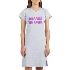 Breast Cancer Cause Women's Nightshirt