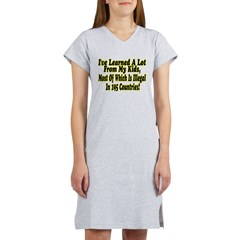 Learned A Lot Women's Nightshirt