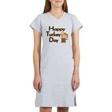 Happy Turkey Day Women's Nightshirt