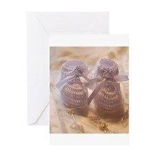 Unisex Baby Shoes Greeting Card
