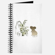 Cute Mouse and lily of the va Journal