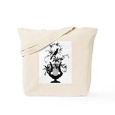 Lyre Bird Tote Bag