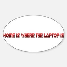 Home Is Red Decal