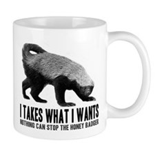 Honey Badger Speaks Mug