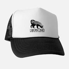 Honey Badger Speaks Trucker Hat