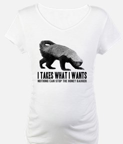 Honey Badger Speaks Shirt