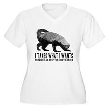 Honey Badger Speaks T-Shirt