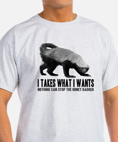 Honey Badger Speaks T-Shirt