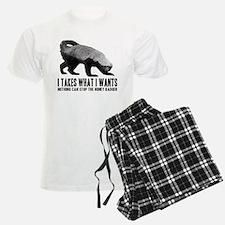 Honey Badger Speaks Pajamas