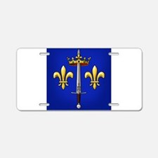 Joan of Arc heraldry Aluminum License Plate