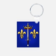 Joan of Arc heraldry Keychains