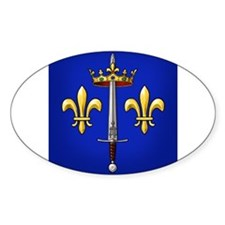 Joan of Arc heraldry Decal