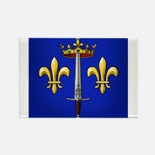 Joan of Arc heraldry Rectangle Magnet