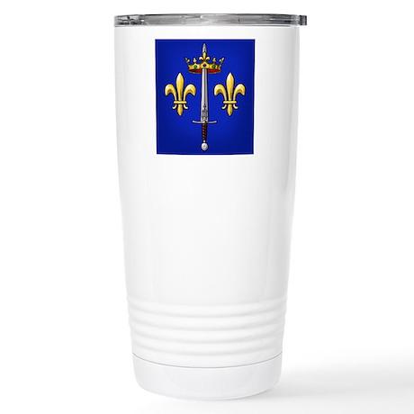 Joan of Arc heraldry Stainless Steel Travel Mug