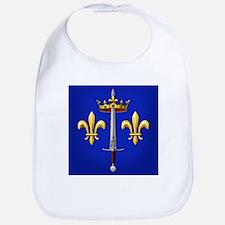 Joan of Arc heraldry Bib
