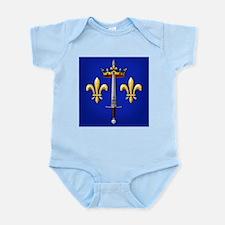 Joan of Arc heraldry Infant Bodysuit