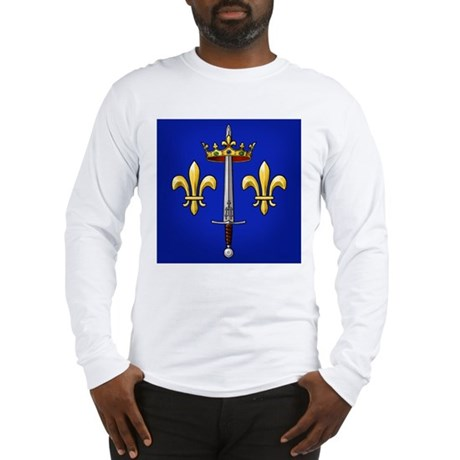 Joan of Arc heraldry Long Sleeve T-Shirt