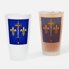 Joan of Arc heraldry Drinking Glass