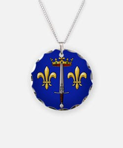 Joan of Arc heraldry Necklace