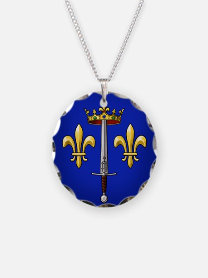 Joan of Arc heraldry Necklace