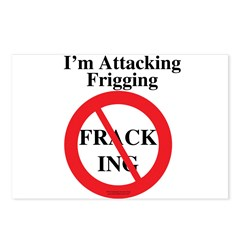 Stop Fracking! Postcards (Package of 8)