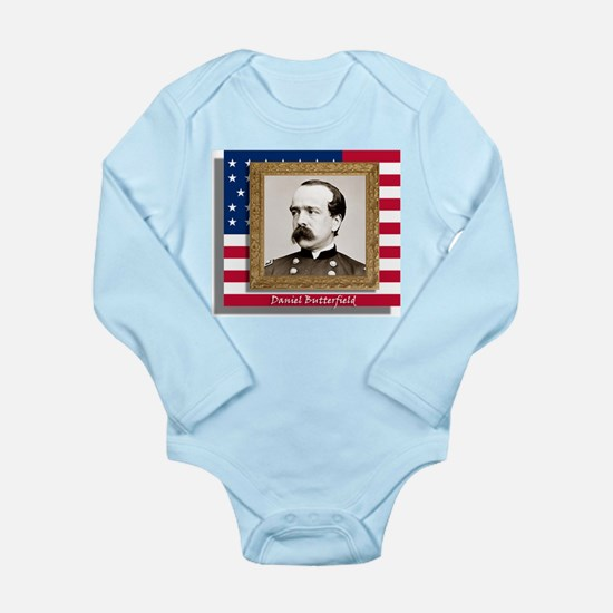 Daniel Butterfield Long Sleeve Infant Bodysuit