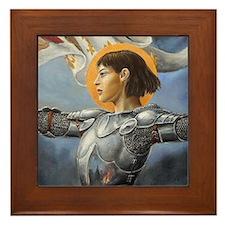 Maid of Orleans Framed Tile