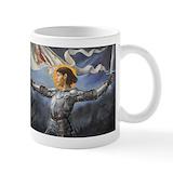 Joan of arc Small Mugs (11 oz)