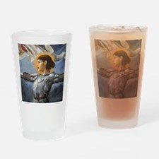 Maid of Orleans Drinking Glass
