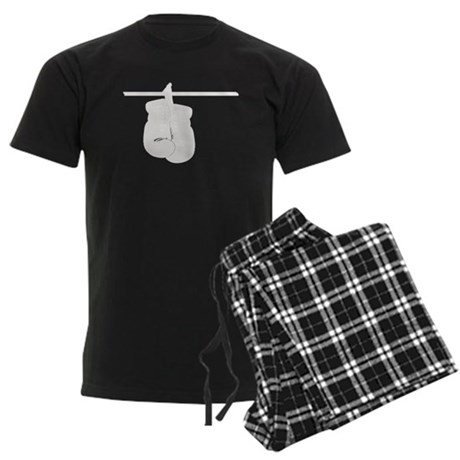 Boxing Gloves Men's Dark Pajamas