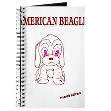 American Beagle Cute Journal