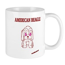 American Beagle Cute Mug