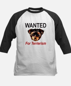 WANTED For Terrierism Tee