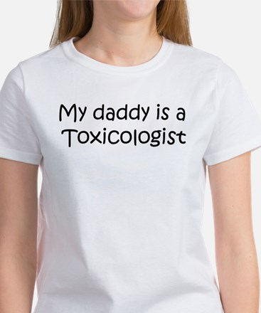 Daddy: Toxicologist Women's T-Shirt