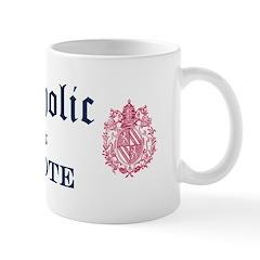 Catholic I Vote Mug