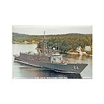 USS JACK WILLIAMS Rectangle Magnet