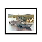 USS JACK WILLIAMS Framed Panel Print