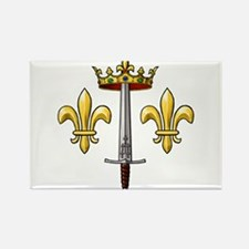 Joan of Arc heraldry 2 Rectangle Magnet