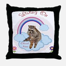 Living On Cloud Nine Throw Pillow