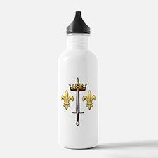 Joan of Arc heraldry 2 Water Bottle