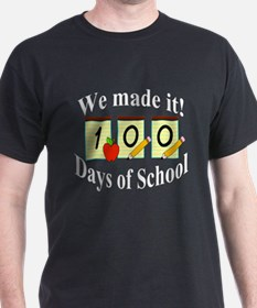 100th Day of School- We Made it! T-Shirt