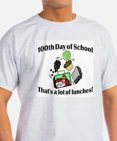 100th Day of School, Lunches T-Shirt