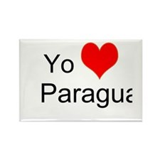 Cute Paraguay Rectangle Magnet