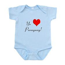 Cute Paraguay Infant Bodysuit