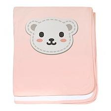 Cute Polar Bear baby blanket