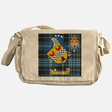 Clark Scottish family Name Messenger Bag