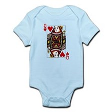 Queen Of Hearts Infant Bodysuit